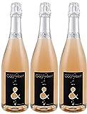 Crémant de Loire Rosado Brut en lotes de 3 botellas