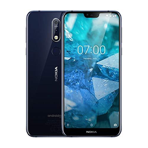 "Nokia 7.1 14.8 cm (5.84"") 4 GB 64 GB 4G Blue 3060 mAh"