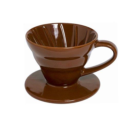 Keramik Kaffee Tropfer, 1–2Tassen braun