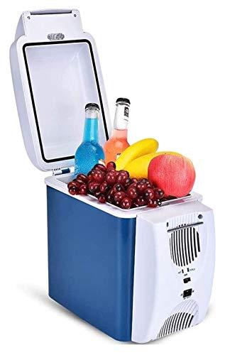 SHUHANG 7.5L Mini Coche Auto refrigerador y Uso en el hogar Calefacción de refrigeración para automóviles y Camiones (Size : 27x18x31cm)