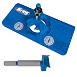 Kreg Concealed Hinge Jig and 35mm Concealed Hinge Jig Bit Bundle (2 Items)
