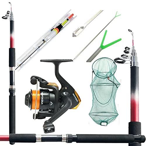 Kit per la Pesca Completo Tutto Fare Mare Lago Barca