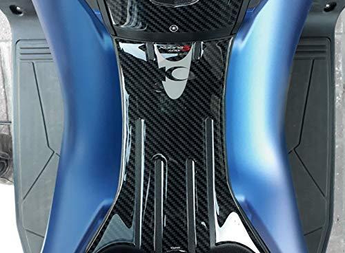 3D Gel Sticker Footboard Protection kompatibel für XCITING S 400 Kymco Scooter