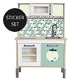Limmaland Sticker byGraziela fr IKEA DUKTIG (Mint) - Kinderkche Nicht inklusive