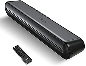 Mini Soundbar, Sound Bar for TV, Computer Sound Bar with Bluetooth 5.0, Wired & Wireless PC Speaker, Home Audio System for Gaming HDMI/AUX/Opt