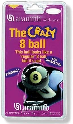 Poolkugel ARAMITH Crazy 8 , 57,2mm, (Schwerpunkt Nicht mittig zentriert) Eine Kugel, die sehr viel Spaß bereitet B00QQ14J54  | Ab dem neuesten Modell