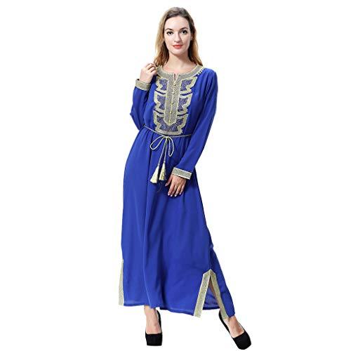 foreverH Damenn Muslim Ramadan Islamic Dress Scarf Dress Muslimischer Muslimische Arabische Mittlere...