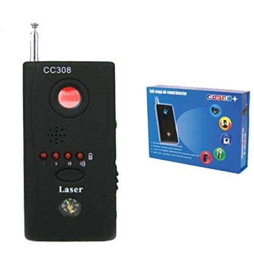 DOBO Rilevatore di microspie bonifica cimici telecamere Spy Wireless e cablate CC308+ rileva Micro spie telecamere infrarossi Onde elettromagnetiche
