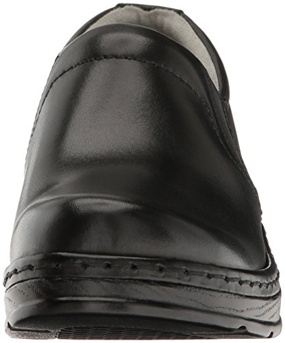 Klogs USA Women's Naples Clog,Black Smooth,8 M US