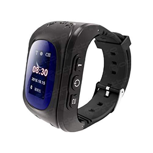 MRLIFY Kinder Smart Uhr Q50, GPS, SOS Anruf Location Finder Locator Tracker Anti verloren Monitor, Android Wear, Kompatibel mit iOS und Android