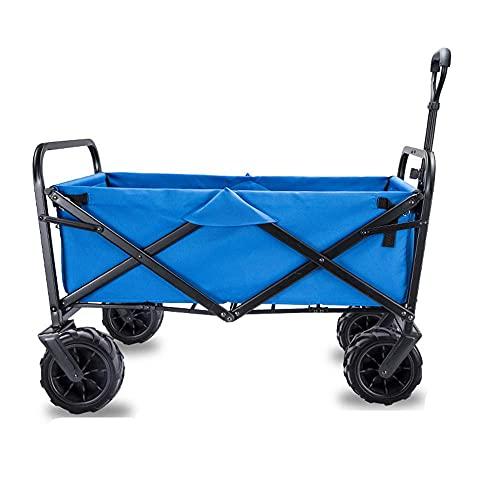 Z-SEAT Handwagen-Faltbarer tragbarer Einkaufswagen, Skizzenfotografie im Freien, mehrere Farben zur Auswahl