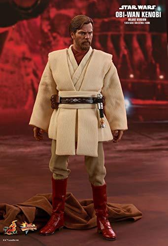 Star Wars Revenge of the Sith Movie Masterpiece Obi-Wan Kenobi Collectible Figure MMS477 [Deluxe Version]