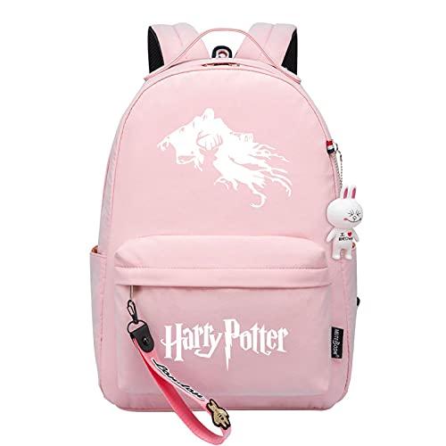 MMZ La mochila de los niños, bolso de escuelaRosado lindo de la muchacha, mochila elegante ligera (#13)