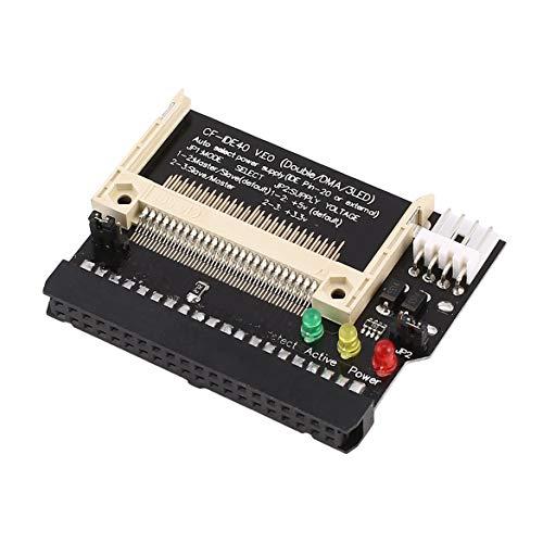 KKAAMYND Compact Flash CF a 3.5 Hembra de 40 Pines IDE Adaptador...