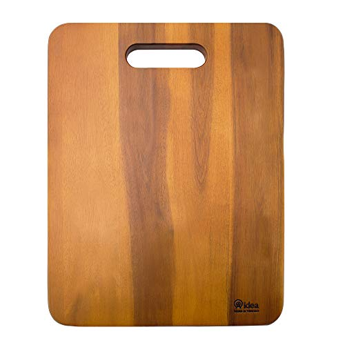 Wood Cutting Board, AIDEA 1- Piece 16 Inch Acaciawood Chopping Boards for Kitchen, Knife-friendly Wooden Cutting Board Best for Chopping Meat/Vegetables and Fruits - Best Christmas Gift (1 Piece)