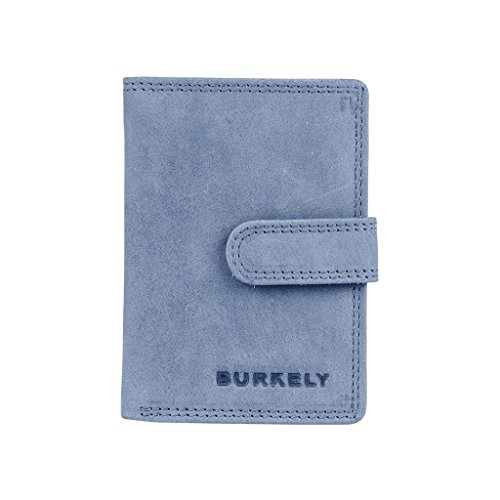 BURKELY Leren portemonnee Stacey Multi CC Holder Atlantic Blue