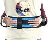OrtoPrime Cinturón de Transferencia Adultos - Eslinga Lumbar de Transferencia - Cinturón de Seguridad para Ancianos con 4 Asas - Ayuda para Levantarse de Cama Pacientes y Cuidadores