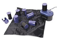 20 Jumbo 1 1/2-Inch ionic soft foam rollers Steams and conditions as it curls Includes Storage Pouch