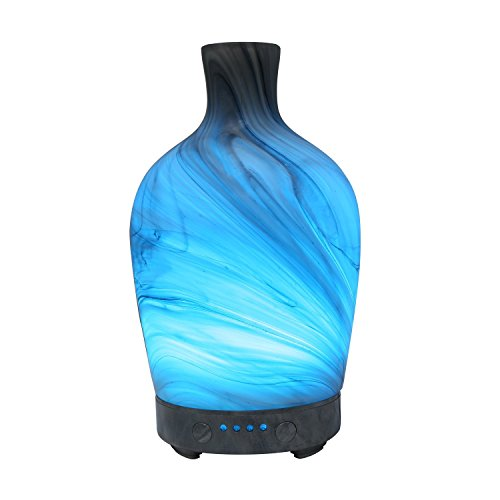 humidificadores aceites esenciales de cristal