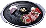 COLIBROX New Korean BBQ Grill, Stovetop Barbecue, Table Top BBQ, Indoor Barbecue Grill, Pan