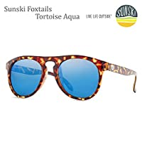 sunski サンスキー サングラス Foxtails Tortoise Aqua sunski サングラス 偏光サングラス