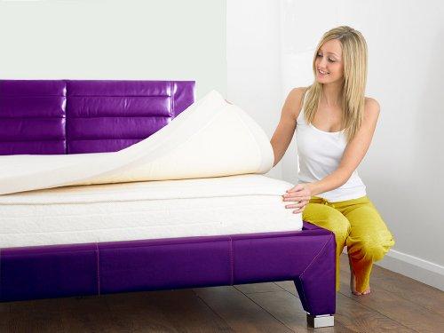 Bedzonline Memory Foam Topper Double 3inch