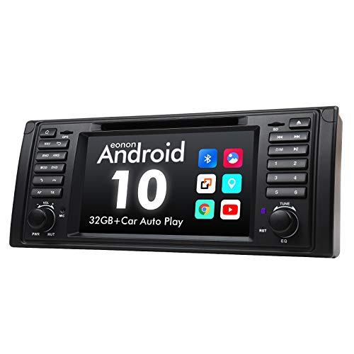 2021 Newest Car Stereo Android 10 Car Stereo Android Car Head Unit, Eonon Car GPS Navigation Support Apple Carplay/Android Auto/Bluetooth 5.0/WiFi/Fast Boot/DVR/Backup Camera/OBDII-7 Inch-GA9449