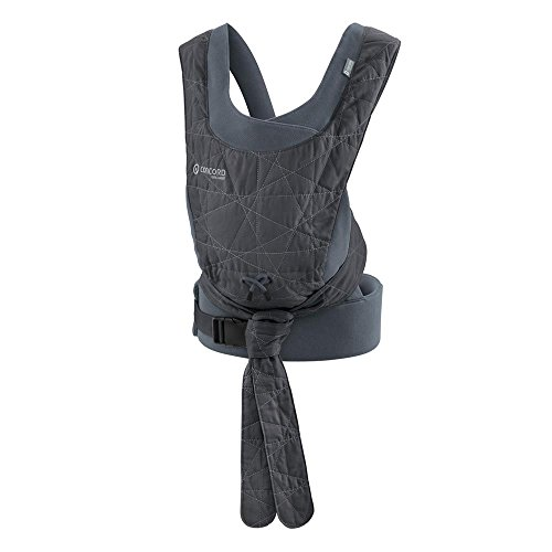 Concord Wallabee Babytragerucksack, vorne und hinten, Kopfstütze, geeignet ab 3,5 kg bis 18 kg, 100% Baumwolle