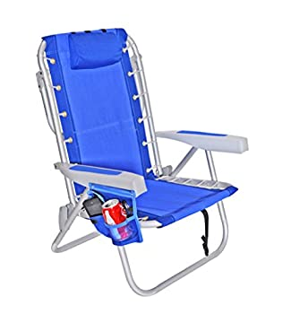 Rio 5 Positions LayFlat Ultimate Backpack Beach Chair