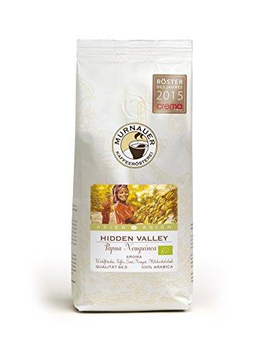 Murnauer Kaffeerösterei HIDDEN VALLEY - Espressobohnen aus Papua Neu Guinea - Premium Kaffee - von Hand frisch & schonend geröstet - Espresso und Filterkaffee - 1000g ganze Bohnen