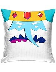 Your Best Choice Adventure Time abstrakt örngott, dubbelsidigt tryck, dold dragkedja, vackert tryckt mönster örngott 45 cm 45 cm