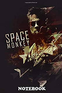 Notebook: Space Monkeys , Journal for Writing, College Ruled Size 6