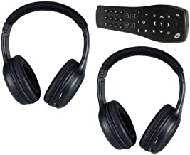 Saturn Outlook DVD Headphones Headsets (Set of Two) and One Remote Control 2007 2008 2009