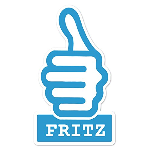 JOllify Sticker - Fritz - 10cm - Design: thumbs up - duim hoog