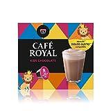 Café Royal Kids Chocolate Nouvelle Génération- 48 dosettes Compatibles avec le Système NESCAFE* Dolce Gusto* (Lot de 3X16)