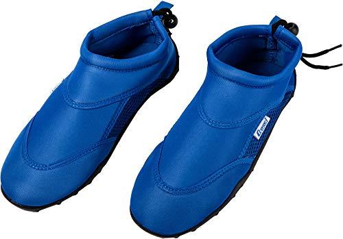 Cressi Coral Shoes with Lace Zapatos de Mar, Unisex Niños, Azul Royal, 27 EU