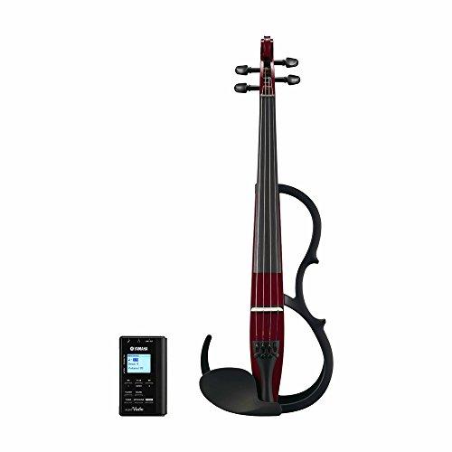 YAMAHA SILENT VIOLIN SET 4/4 SV150SWR - WINE RED Geigen E-Geigen