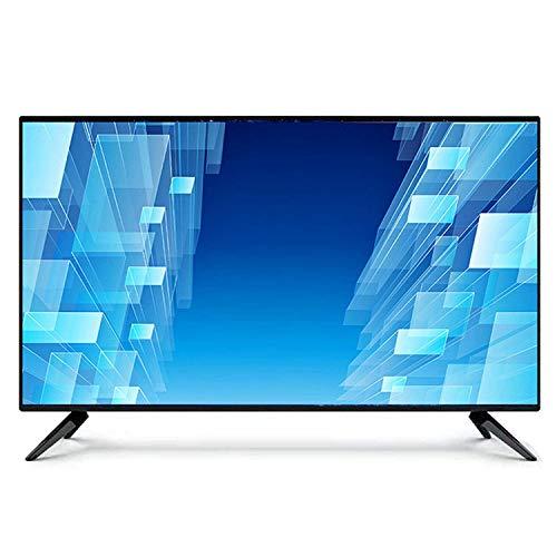 Smart TV LED HD de 32 Pulgadas Diseño Delgado 1080p, Altavoces Integrados con Puertos HDMI, VGA USB AV DVI RF y TV LED Inteligente HD remota