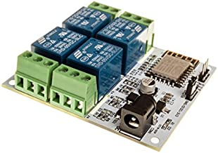 LinkSprite LinkNode R4 ESP-12f ESP8266 WiFi Relay Controller IoT Module (LN_RELAY4CH)