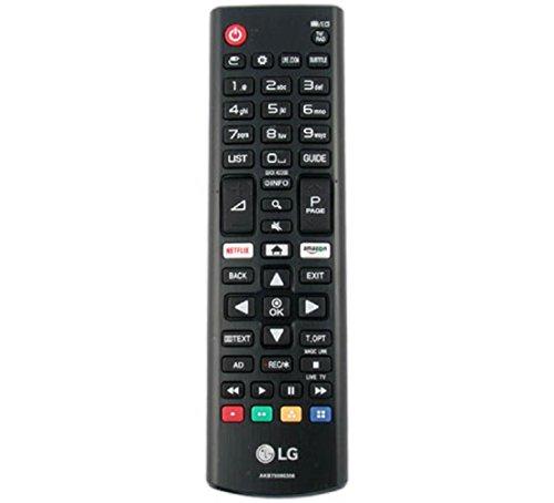 Original Fernbedienung für LG AKB75095308 Ultra HD TV mit Netflix Amazon Buttons