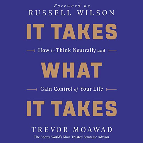 It Takes What It Takes audiobook cover art