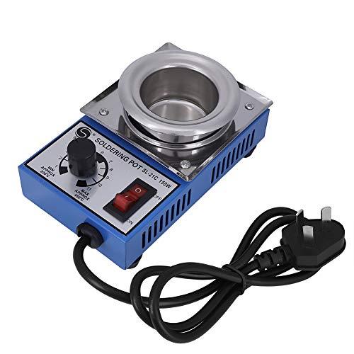 220 V 150 W Solder Pot Saldatura Dissaldante Bagno 50mm ST-21C 450 Gradi Max Tin Forno di fusione termoregolazione Saldatura Dissaldante Bagno