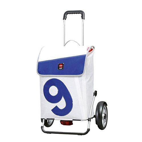 Andersen Carro de Compra Royal Plus con Bolsa 360° Boje 9, Volumen 53L, Marco Aluminio y Ruedas con rodamiento de Bolas