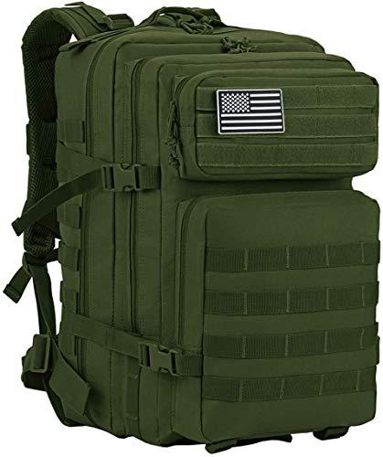 DTKJ Ultra Lightweight Packable Foldable Rucksack Water Resistent 45l Military Tactical Backpack Large Waterproof
