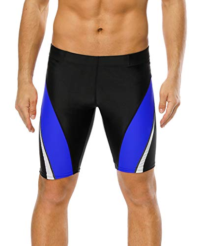 belamo pro Competition Short Jammer Swimming Suits Athletic Swimsuits for Men 34