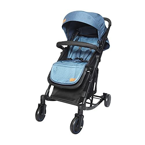 R for rabbit Rock N Roll Stroller Compact Travel Friendly Pram for Baby | Kids | Infants | Newborn | Boys & Girls of 0 to 3 Years(Black Blue)