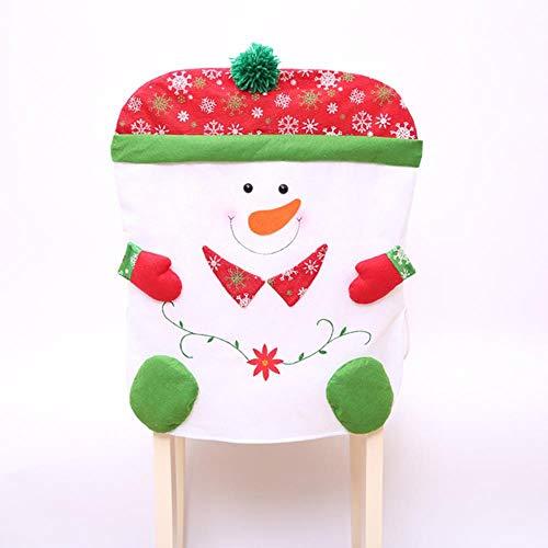 VHJ -Juego de sillas de muñeco de Nieve, Suministros de decoración de Escritorio, Usopara la Familia, Red Ling JIE