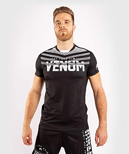 Venum Herren Signature Dry Tech T-Shirt,...