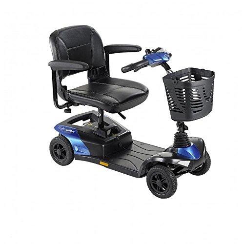 Scooter eléctrico Colibri, 12 Ah y 4 ruedas para mayores, color azul 🔥
