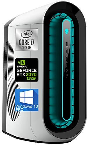 Alienware Aurora R11 Gaming Desktop, Intel i7-10700K, NVIDIA GeForce RTX 2070 Super 8GB GDDR6, 1TB NVMe SSD + 1TB SATA HDD, 64GB DDR4 XMP, DisplayPort, HDMI, AX Wi-Fi, Windows 10 Pro